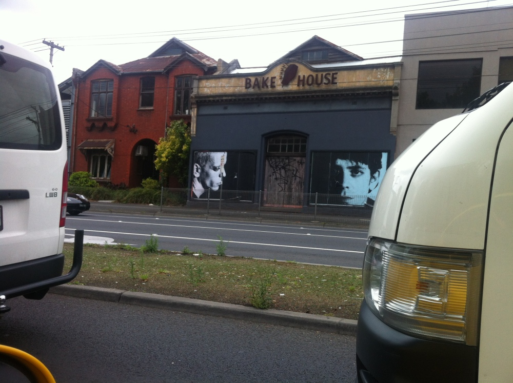 Lou Reed on Hoddle Street