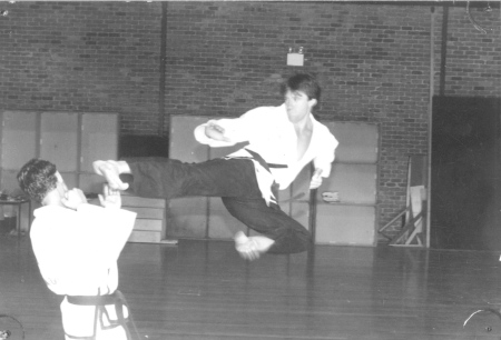 Jim age 26 flying side kick