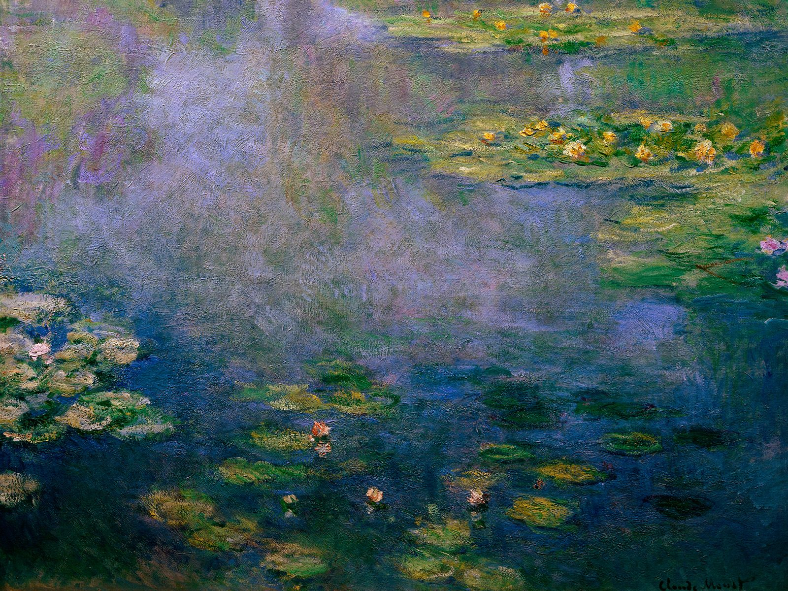 water-lilies-claude-monet