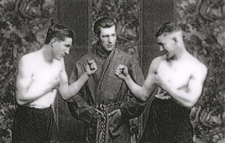 The Fighting Palmers: Billy, Dave and Ambrose