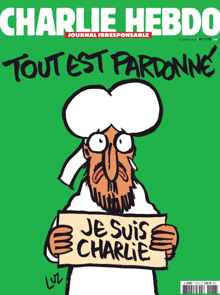 Malheureusement, je suis aussi Charlie Hebdo