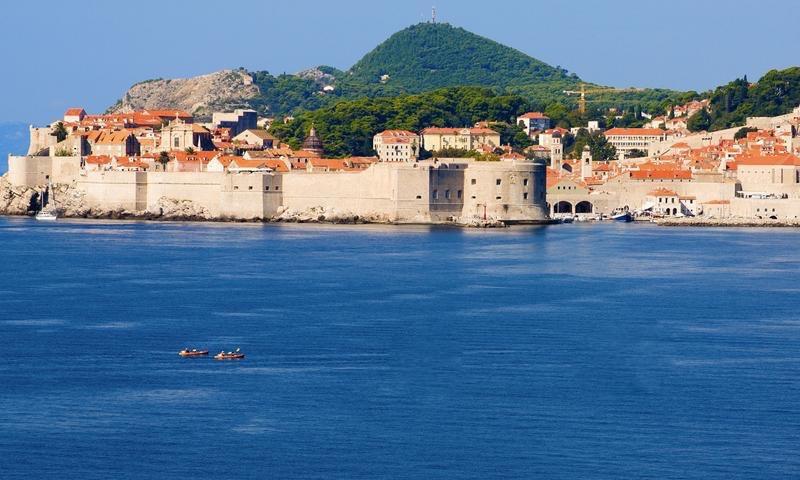 Sea Kayaking off the Coast of Dubrovnik