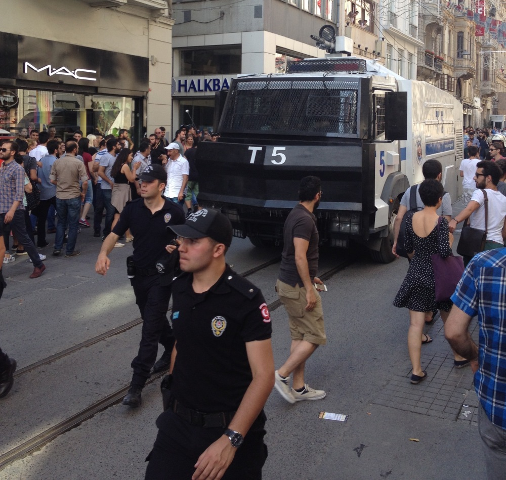 Rubber Bullets and Riot Police: Istanbul Pride March, 2015 (4/6)