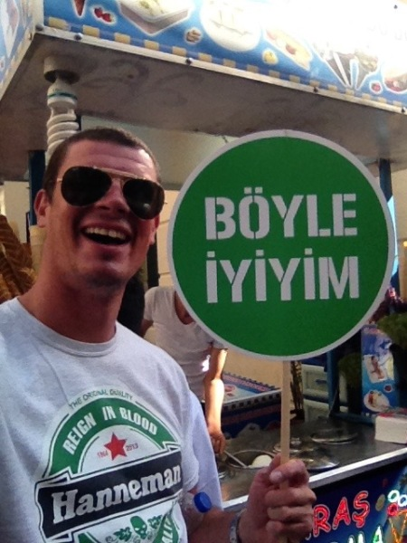 'Boyle' is the Turkish word for 'queer'.