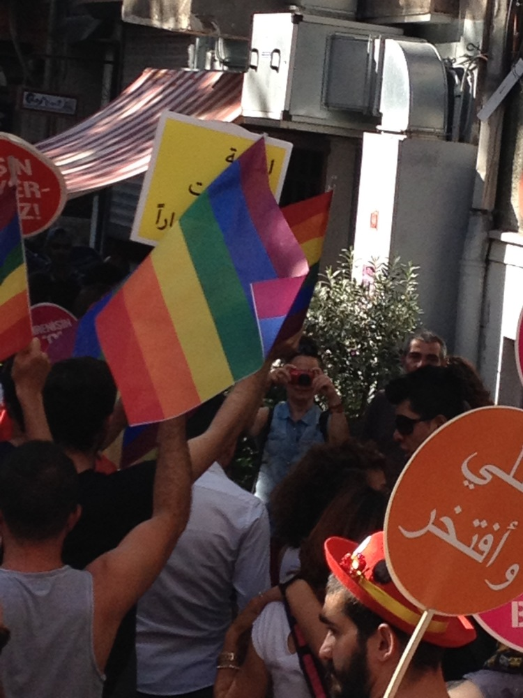Rubber Bullets and Riot Police: Istanbul Pride March, 2015 (6/6)
